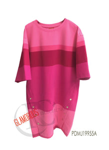 Yarndye Stripe loose fit tunic