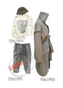 Tee shirt / pant /jacket set