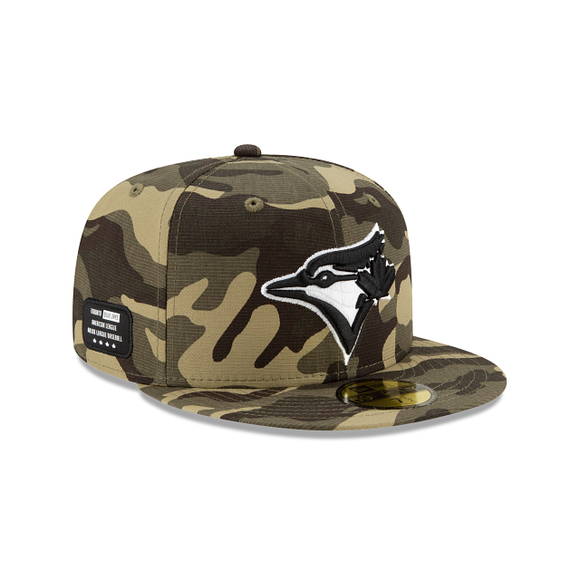 New Era Armed Forces Weekend 59Fifty Fitted Toronto Blue Jays Hat