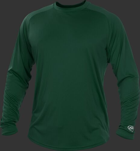 Rawlings Rawlings Adult Crew Neck Long Sleeve Shirt-artwork included