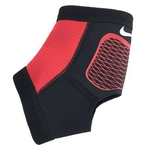 NIKE-PRO HYPERSTRONG ANKLE SLEEVE 2.0-NMS73002SL-SMALL-RED/BLACK