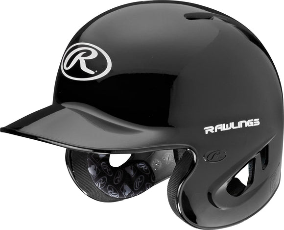 RAWLINGS-90 MPH HELMET SMALL-S90PAB88-6 7/8 - 7-BLACK