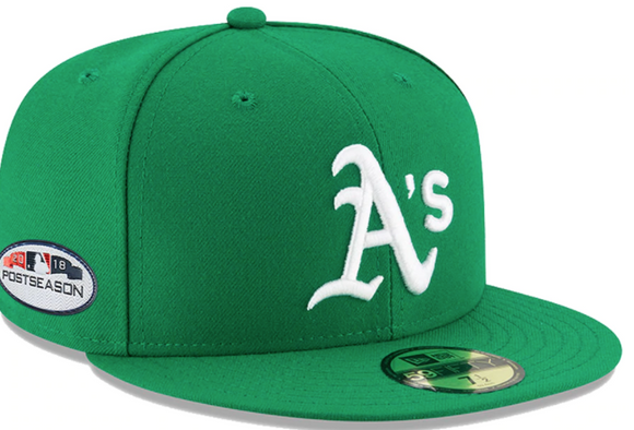 New Era A's Kelly Green Retro