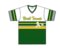 Original Retro Youth NT 's A's jersey