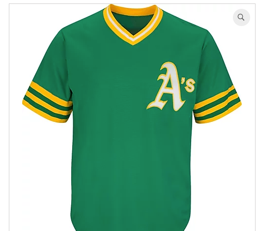 Classic NT A's Adult Jersey Kelly Green