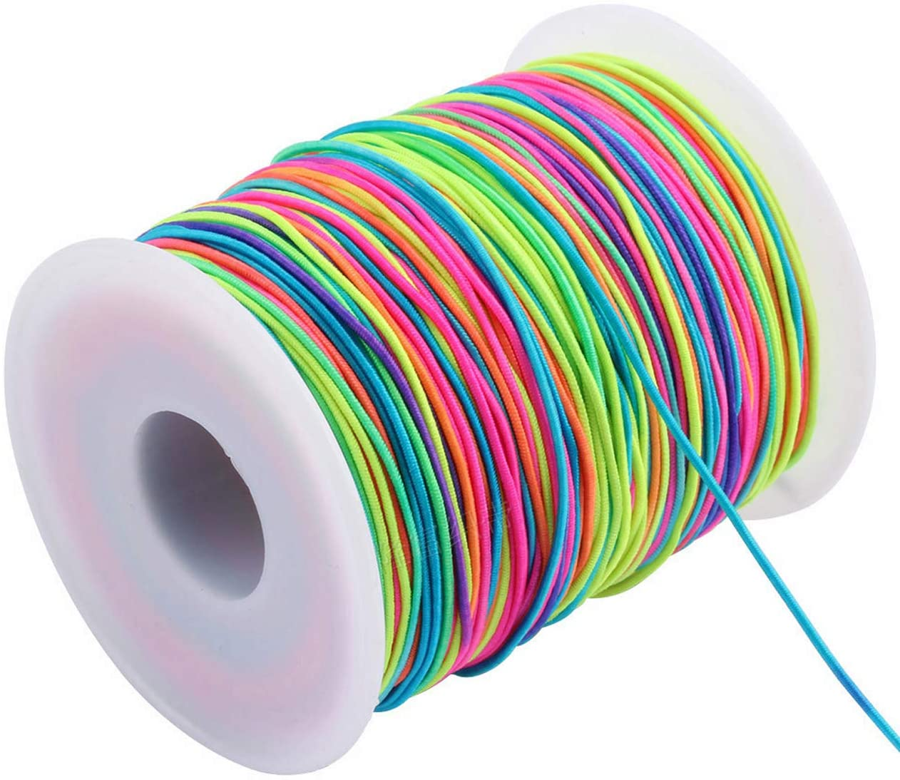 Elastic Cord Rainbow Color Beading Thread Stretch String For Bracelets Shop2idea