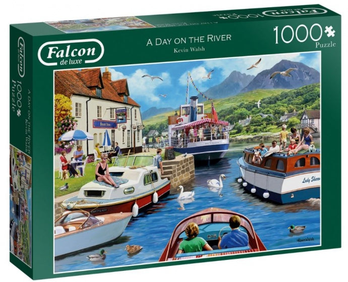 Falcon Legpuzzel A Day On The River 1000 Stukjes