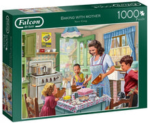 Afbeelding in Gallery-weergave laden, Falcon Legpuzzel Baking With Mother 1000 Stukjes