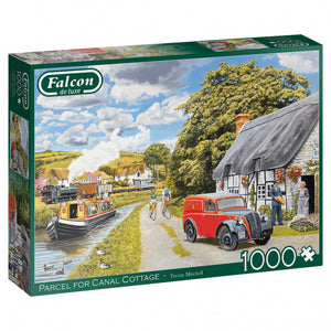 Falcon Legpuzzel Parcel For Canal Cottage 1000 Stukjes