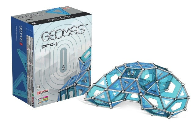 Geomag Education Set Masterbox Pro-L Blauw 396-Delig
