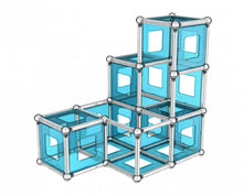 Afbeelding in Gallery-weergave laden, Geomag Education Set Masterbox Pro-L Blauw 396-Delig