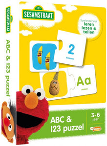 educatief spel Sesamstraat ABC & 123