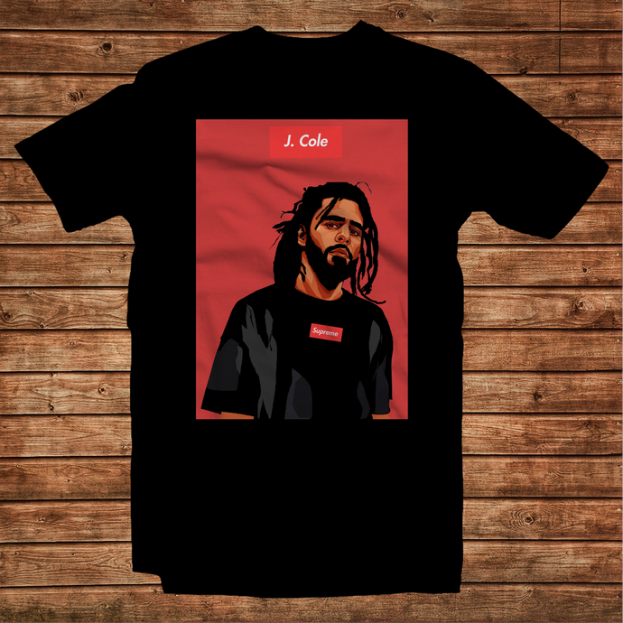 J Cole Supreme Graphic Art Unisex T-Shirt