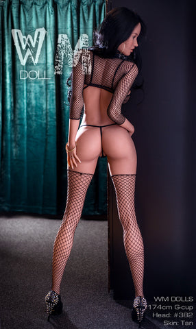 Sex Doll Nessa-5ft7in (174 cm)-Black Sex Doll