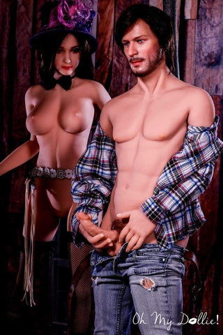 Sex Doll Caleb-5ft5in (167 cm)- Male Sex Doll-Silicone Head