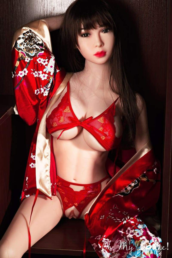 4ft9 affordable Asian Athletic Brunette Sex Dolls