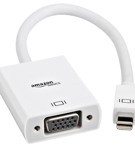 AmazonBasics Mini DisplayPort (Thunderbolt) to VGA Adapter