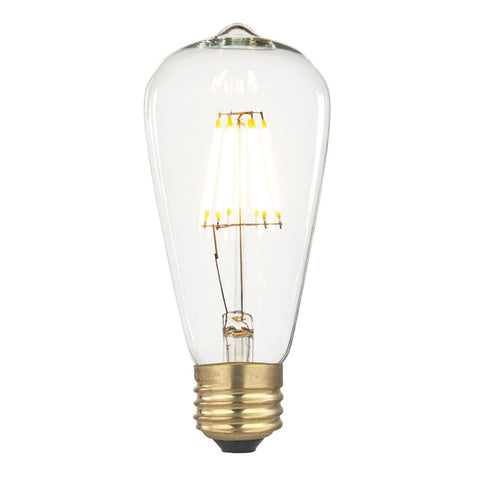 Bright LED Pear Non-Dimmable