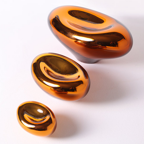 Cell Oval Gold