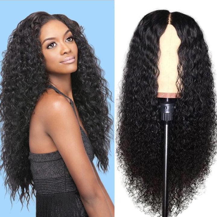 Human Hair Wigs Curly 360 Lace Frontal Wigs