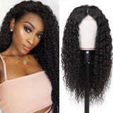 Human Hair Wigs Kinky Curly 360 Lace Frontal Wigs