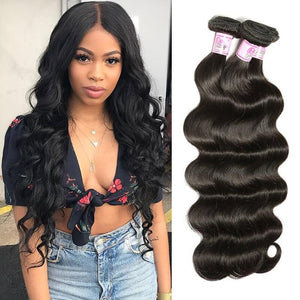 Brazilian Virgin Hair Weave 3 Bundles Body Wave Hair