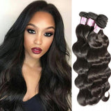 Brazilian Virgin Hair Weave 4 Bundles Body Wave Hair