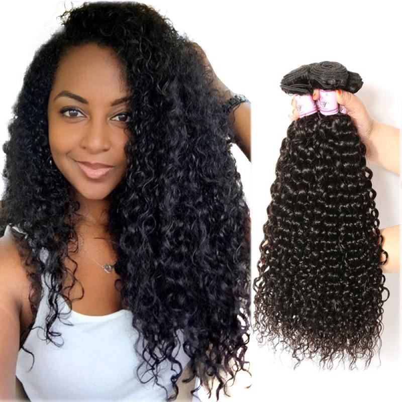 Brazilian Virgin Hair Weave 3 Bundles Curly Hair
