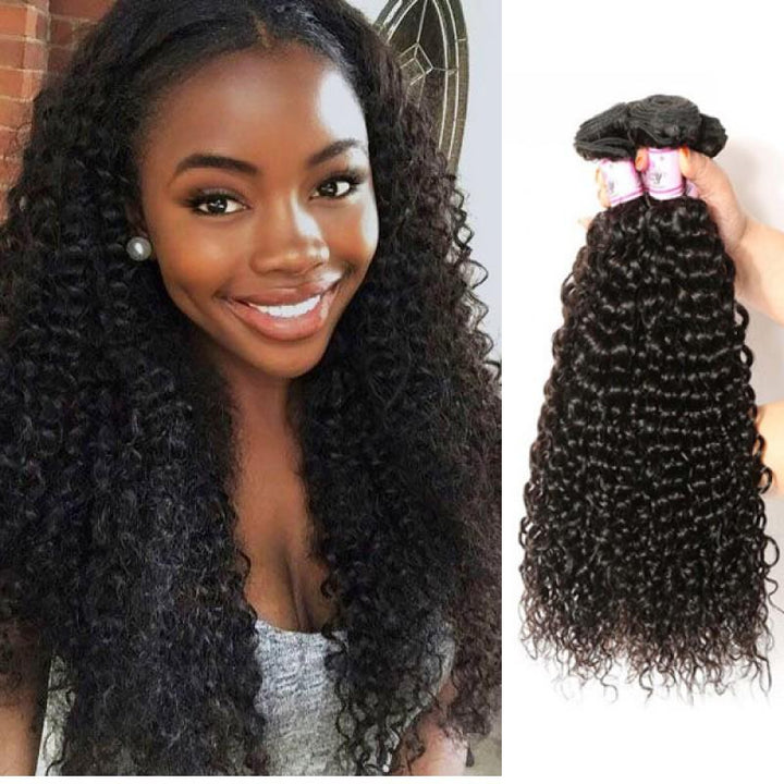 Brazilian Virgin Hair Weave 4 Bundles Curly Hair