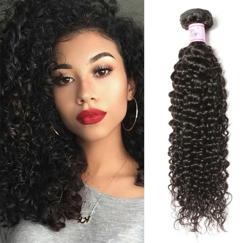 Brazilian Virgin Hair Weave Bundles Curly Hair