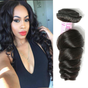Brazilian Virgin Hair Weave Bundles Loose Wave Hair