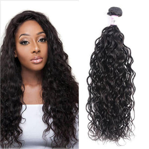 Brazilian Virgin Hair Weave Bundles Water Wave Hair