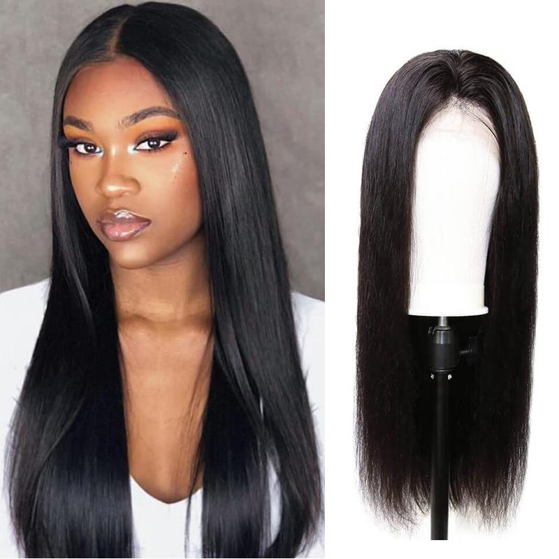 Human Hair Wigs Straight Full Lace Wigs