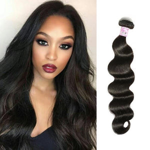 Indian Virgin Hair Weave Bundles Body Wave Hair