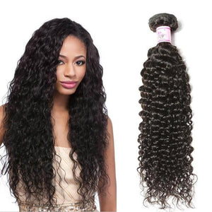 Indian Virgin Hair Weave Bundles Curly Hair