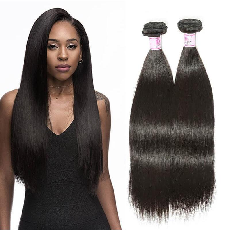Indian Virgin Hair Weave Bundles Straight Hair