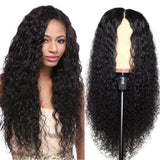 Human Hair Wigs Curly Lace Front Wigs Pre-Plucked Hairline with Baby Hair