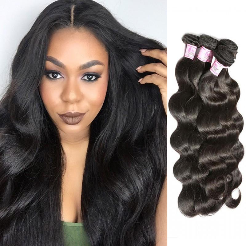 Malaysian Virgin Hair Weave 4 Bundles Body Wave Hair