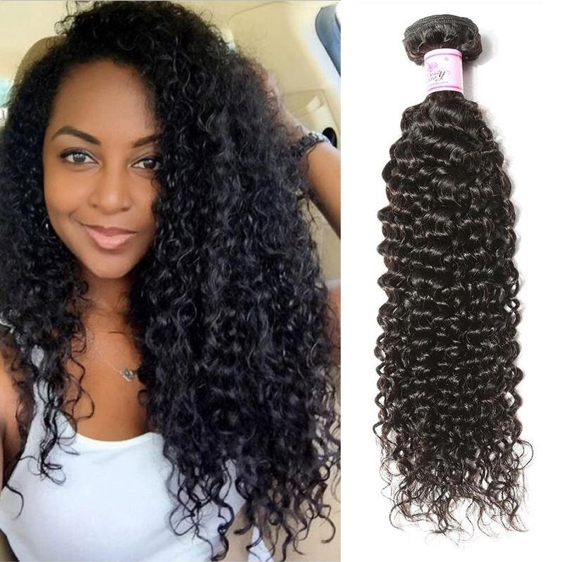 Malaysian Virgin Hair Weave Bundles Curly Hair