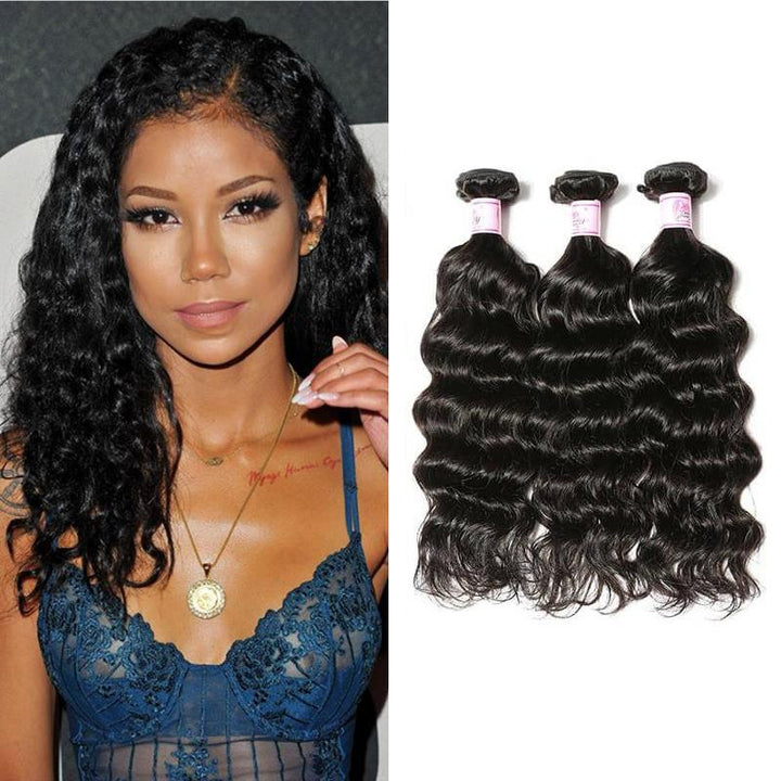 Malaysian Virgin Hair Weave 3 Bundles Deep Wave Hair