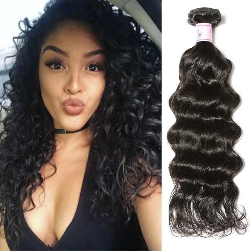 Malaysian Virgin Hair Weave Bundles Deep Wave Hair