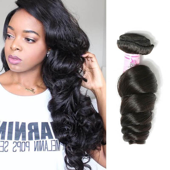 Malaysian Virgin Hair Weave Bundles Loose Wave Hair