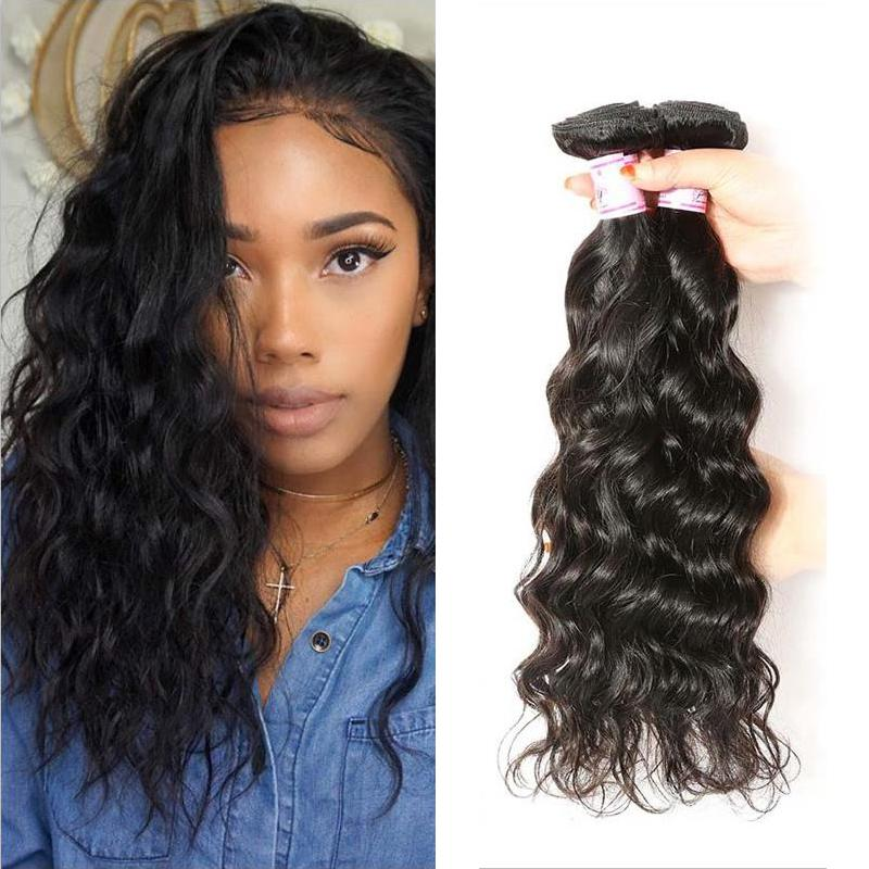 Malaysian Virgin Hair Weave 3 Bundles Natural Wave Hair