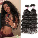 Malaysian Virgin Hair Weave Bundles Natural Wave Hair
