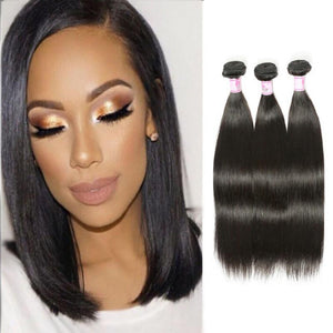 Malaysian Virgin Hair Weave 3 Bundles Straight Hair