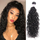 Malaysian Virgin Hair Weave Bundles Water Wave Hair