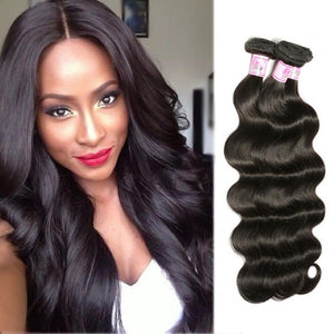 Peruvian Virgin Hair Weave 3 Bundles Body Wave Hair