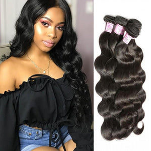 Peruvian Virgin Hair Weave 4 Bundles Body Wave Hair