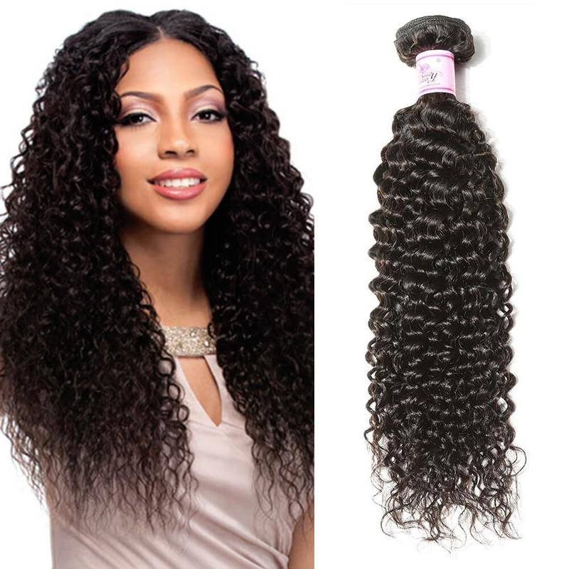 Peruvian Virgin Hair Weave Bundles Curly Hair
