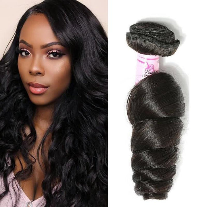 Peruvian Virgin Hair Weave Bundles Loose Wave Hair
